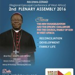 GHANA TO HOST WEST AFRICA CATHOLIC BISHOPS IN ACCRA (22 – 29 FEBRUARY 2016)