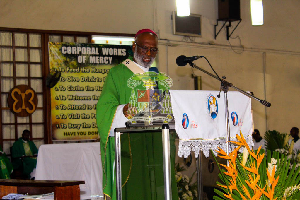 Homily By Archbishop Palmer-Buckle at the Closing of Jubilee of Mercy