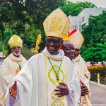Taking Canonical Possession by Archbishop-Elect John Bonaventure Kwofie, Cssp