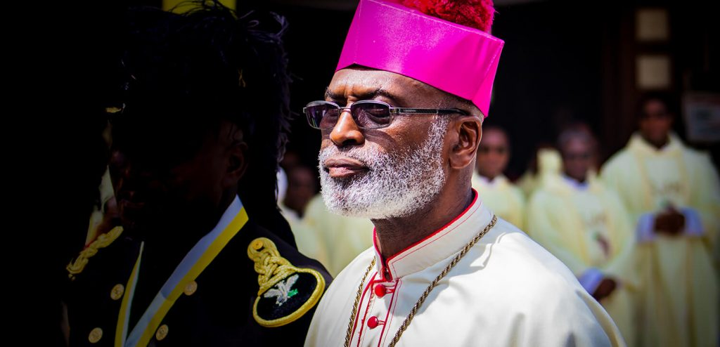 Homily at Send Off of Archbishop Palmer-Buckle