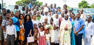 Archbishop Kwofie Visits Archdiocesan Francophone Community