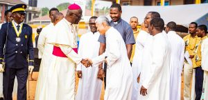 Archbishop Kwofie Visits St. Anthony, Fishpond