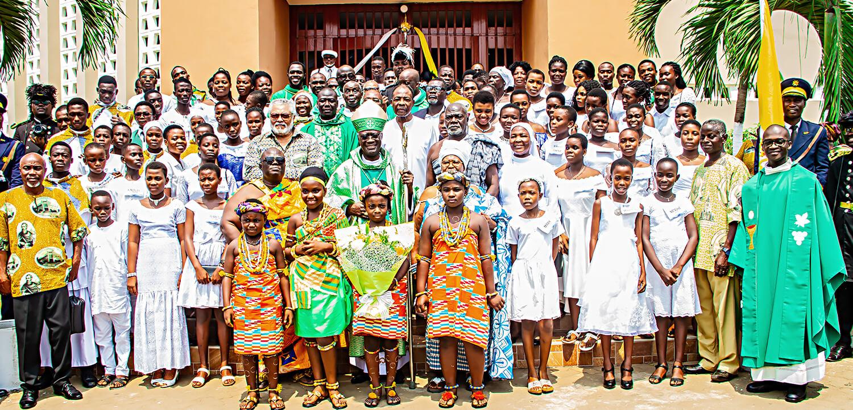Climax 75th Anniversary Celebration of St Paul Kpehe Parish